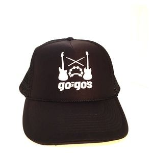 The Go Go's Otto Hat Snap One Size Fits most NWOT
